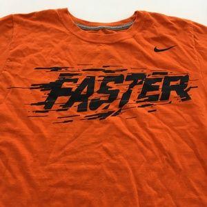 Nike Faster Tee Running Run Graphic T Shirt S